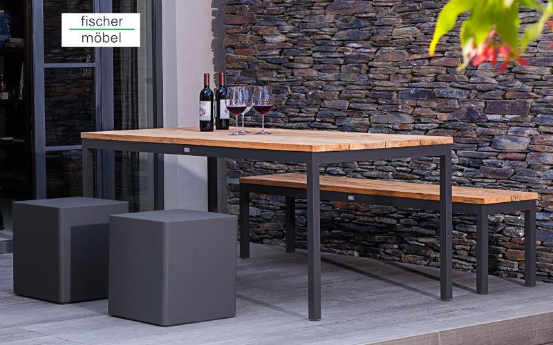 Fischer Mobel Tabouret de jardin Divers mobilier de jardin Jardin Mobilier  |