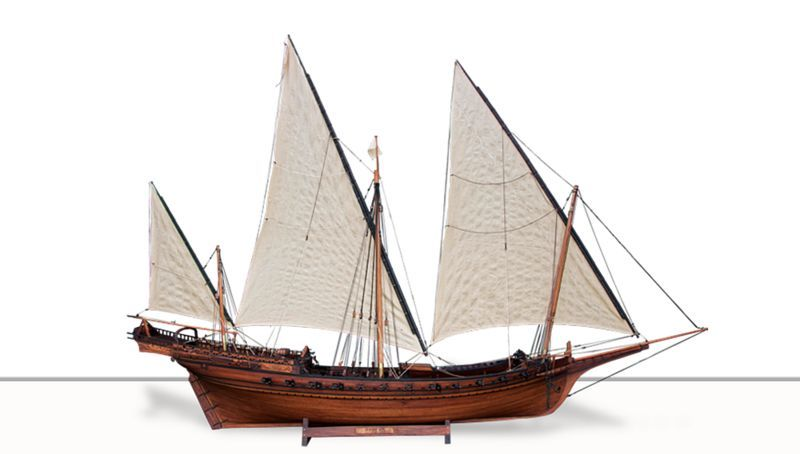 LE VILLAGE Maquette de bateau Maquettes Objets décoratifs  |
