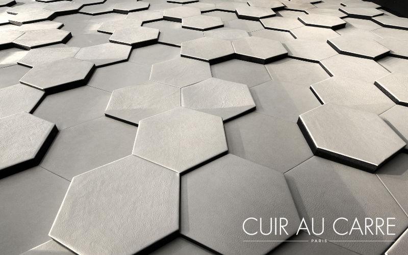 CUIR AU CARRE Carreau de cuir Autres revêtements muraux Murs & Plafonds  |