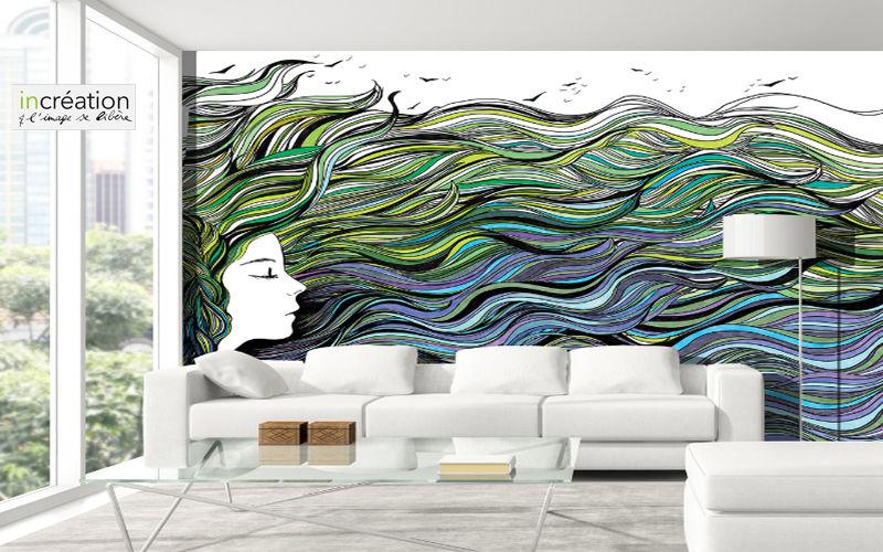 IN CREATION Papier peint personnalisé Papiers peints Murs & Plafonds  |