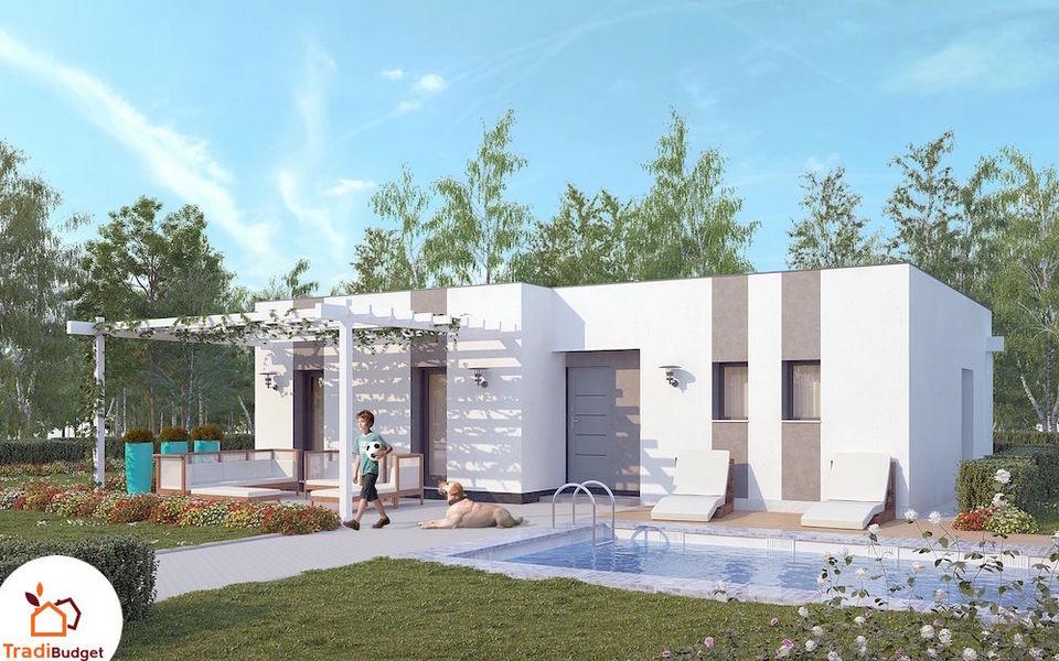 TRADIBUDGET Maison à toit plat Maisons individuelles Maisons individuelles  |