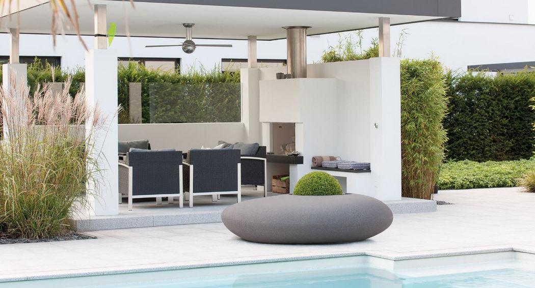 DECOLINES Pot de jardin Pots de jardin Jardin Bacs Pots Terrasse | Design Contemporain