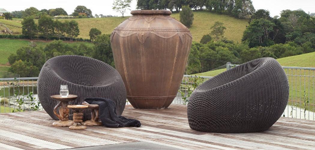 Aerostone Jarre Pots de jardin Jardin Bacs Pots   