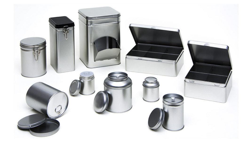 The Box Boite métal Emballages En marge de la Déco  |