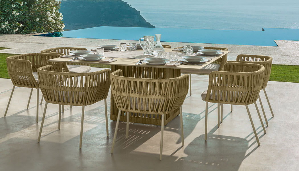 ITALY DREAM DESIGN Fauteuil de jardin Fauteuils d'extérieur Jardin Mobilier Jardin-Piscine | Design Contemporain