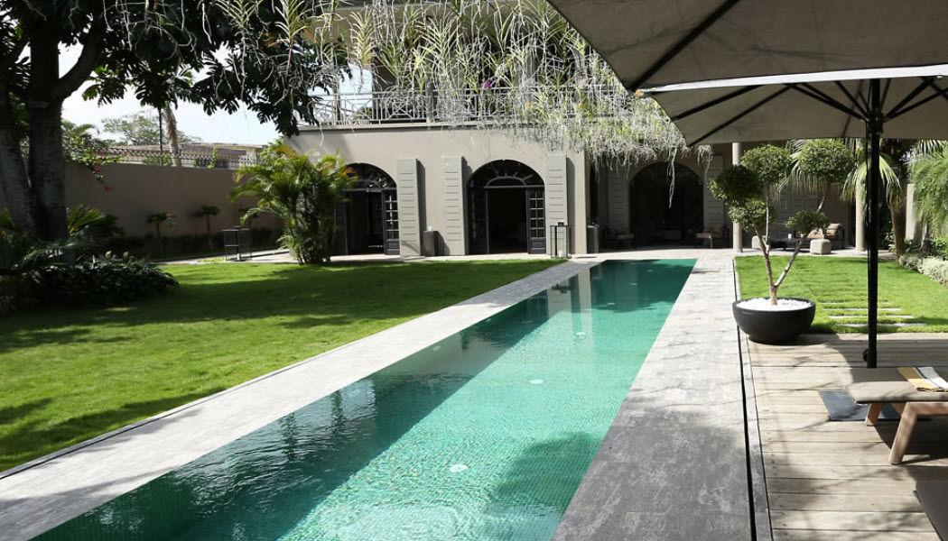 PIERRE STELMASZYK Réalisation d'architecte Réalisations d'architecte Maisons individuelles Jardin-Piscine | Décalé