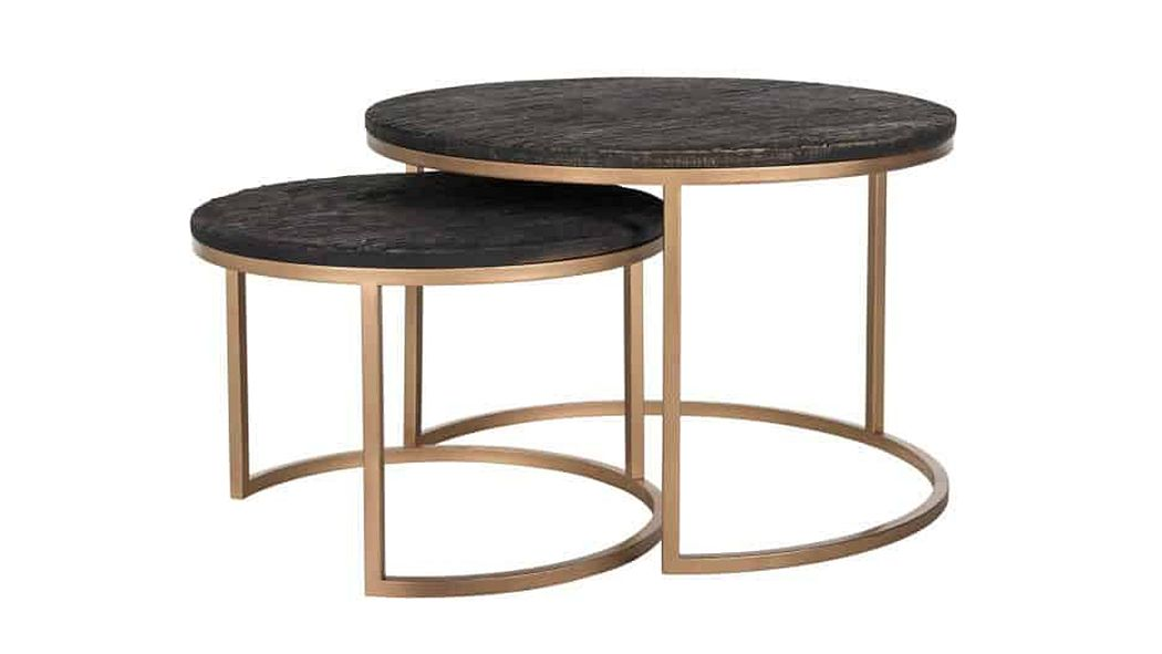 RICHMOND INTERIORS Table basse ronde Tables basses Tables & divers  |
