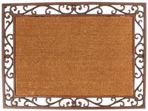 BEST FOR BOOTS - paillasson antique en coco et fonte 74x54x2,5cm - Paillasson
