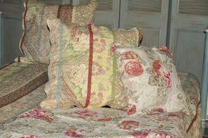 Demeure et Jardin - housse de coussin imprimé cachemire - Taie D'oreiller