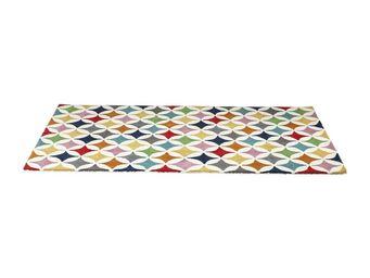 Kare - tapis multicolore campo de color 170x240cm - Tapis Contemporain