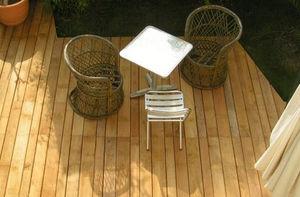 TOOTAN - robinier - Plancher De Terrasse Sur Pilotis