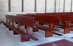 Arc Ebénisterie Banc d'église