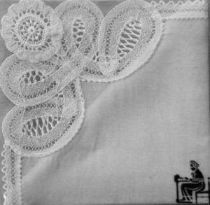Abbey Lace & Tapestries Of Bath Mouchoir