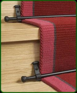 Stairrods Barre de moquette d'escalier