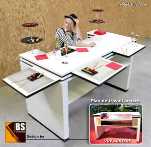 Bs Concept - L'Esprit design - melinda - Ilot De Cuisine