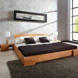 LE RÊVE CHEZ VOUS - lit design en bois 140*200 cm - Lit Double