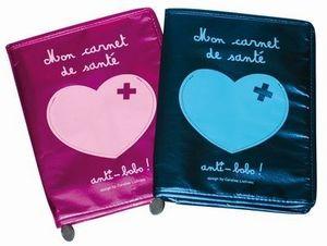 design by Caroline Lisfranc -  - Protège Carnet De Santé
