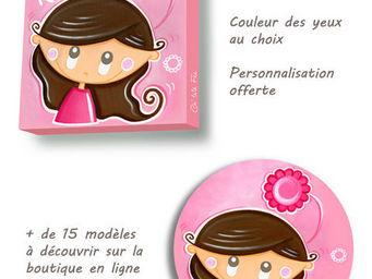 CH'TITE FÉE - framboisine bestseller de la collection - Décoration Murale Enfant