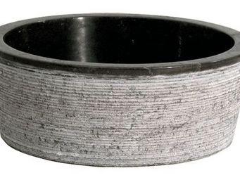 COMPTOIR D'OUTREMER - merapi noire - Vasque À Poser