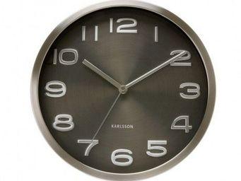 Karlsson Clocks - karlsson - horloge maxy - karlsson - noir - Horloge Murale