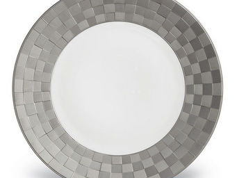 L'OBJET - byzanteum platinum dinnerware - Assiette Plate