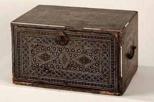 Galerie Jérôme Pla - cabinet perse du xviiième - Cabinet