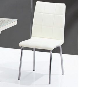 Smart Boutique Design - chaises crème calice lot de 4 - Chaise