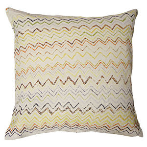 Sugarboo Designs - pillow collection - zig zag - Coussin Carré