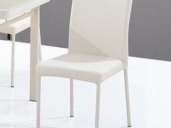 CLEAR SEAT - chaise luna blanc crème - Chaise Visiteur