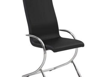 CLEAR SEAT - chaises boreal noires lot de 6 - Chaise