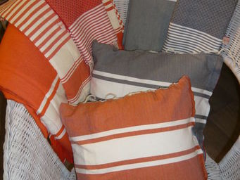 FOUTA BY FOUTAMANIA -  - Coussin Carré