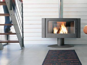 INVICTA - fourneau cheminé en bois antaya finition a 12kw 10 - Poêle À Bois