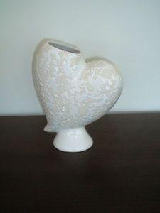 DEV DIFFUSION - vase coeur - Vase D�coratif