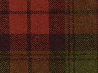 Moquettes A3C CARPETS - tartans �cossais axminster - col.royal red - Moquette