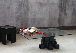 MARTIN EDEN - cristal - Table De Repas Rectangulaire