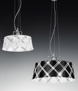 Metal Lux - corallo - Suspension