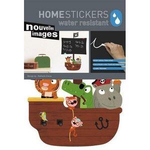 Nouvelles Images - stickers ardoise pirates nouvelles images - Sticker