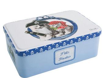 Orval Creations - bo�te � sucre petits pirates - Bo�te � Caf�