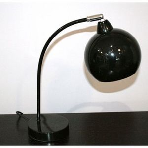International Design - lampe arc boule - couleur - noir - Lampe À Poser