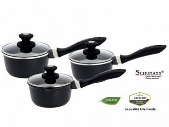 SCHUMANN PROFESSIONNEL - srie de 3 casseroles mooove 16, 18 et 20 cm - Casserole