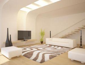 NAZAR - tapis chillout 80x150 beige - Tapis Contemporain