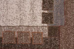 NAZAR - tapis contempo 190x280 caramel - Tapis Contemporain