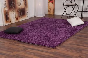 NAZAR - tapis focus 120x170 violet - Tapis Contemporain