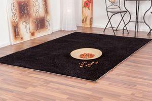 NAZAR - tapis focus 200x290 black - Tapis Contemporain