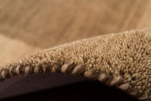 NAZAR - tapis gabbeh 200x290 brown - Tapis Contemporain