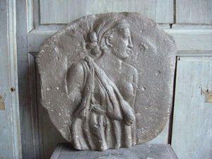 CARRON PARIS - inspiration du poète - Bas Relief