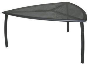 PROLOISIRS - table de jardin triangle malaga - Table De Jardin