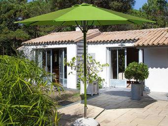 PROLOISIRS - parasol automatique spring 3m toile et mât anis - Parasol