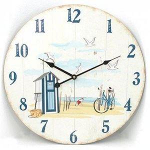 FAYE - horloge plage - Horloge Murale
