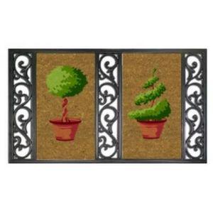 ILIAS - paillasson twin tray jardin - Paillasson